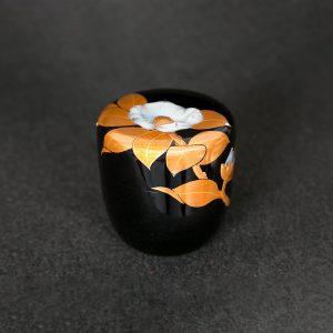 山茶花 螺鈿棗 利久型