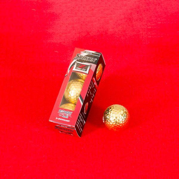 金ボール(試打用 3個入)